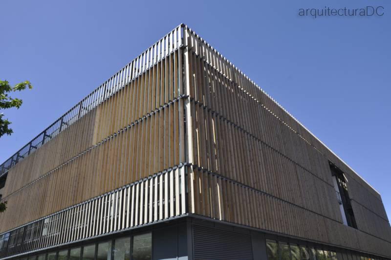 458 expo lisboa lamas de madera 1 arquitectura de for Arquitectura de madera