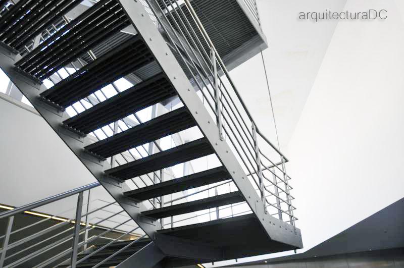 497 Escalera Met Lica Arquitectura De Cerca