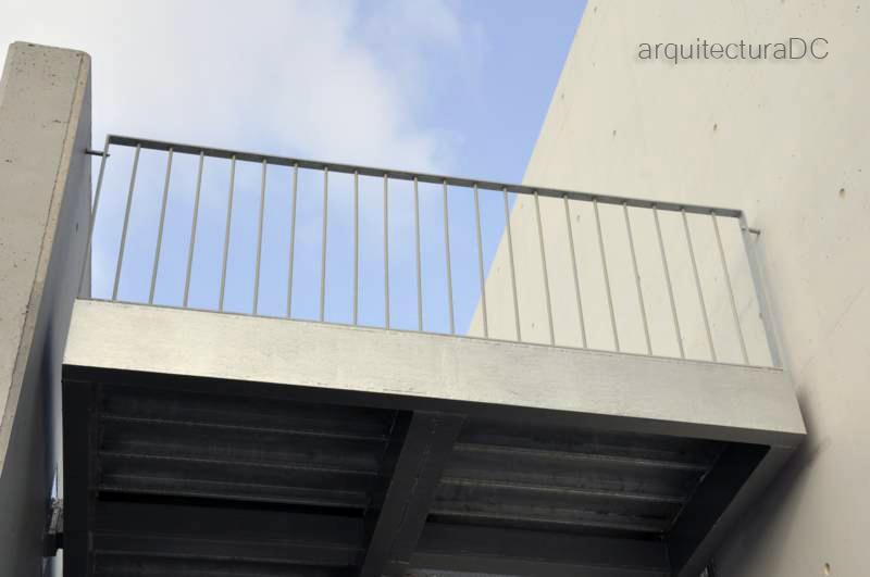 Escalera arquitectura de cerca - Escalera metalica prefabricada ...